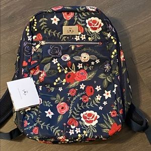 Jujube Ballad Backpack, Midnight Posy NWT